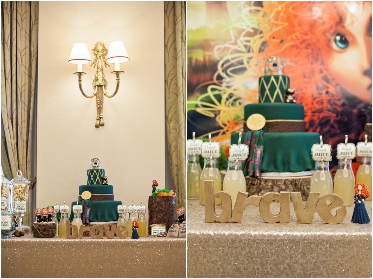 Birthday Party Inspiration Brave Themed Photoshoot