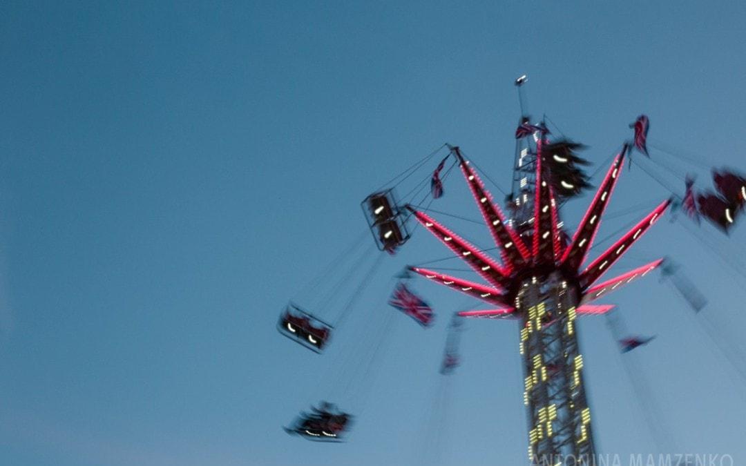 how to photograph a trip to the fun fair