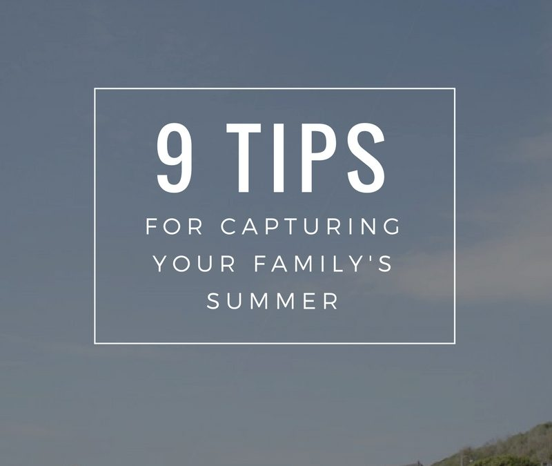 An Alternative Guide To Photographing Your Summer