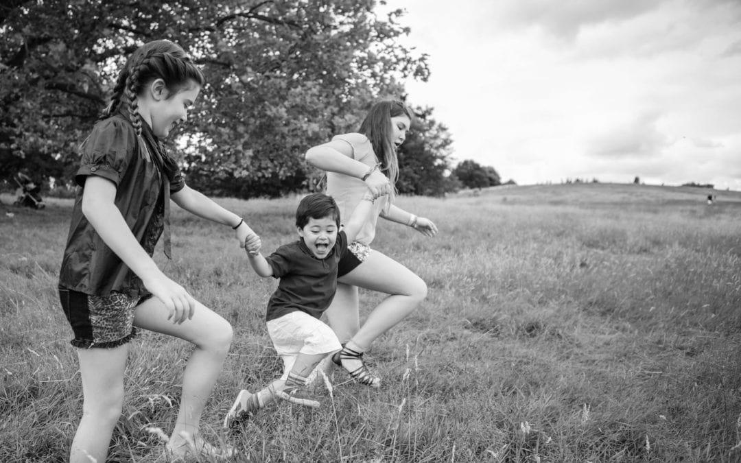 Family Photography on Hampstead Heath, North London
