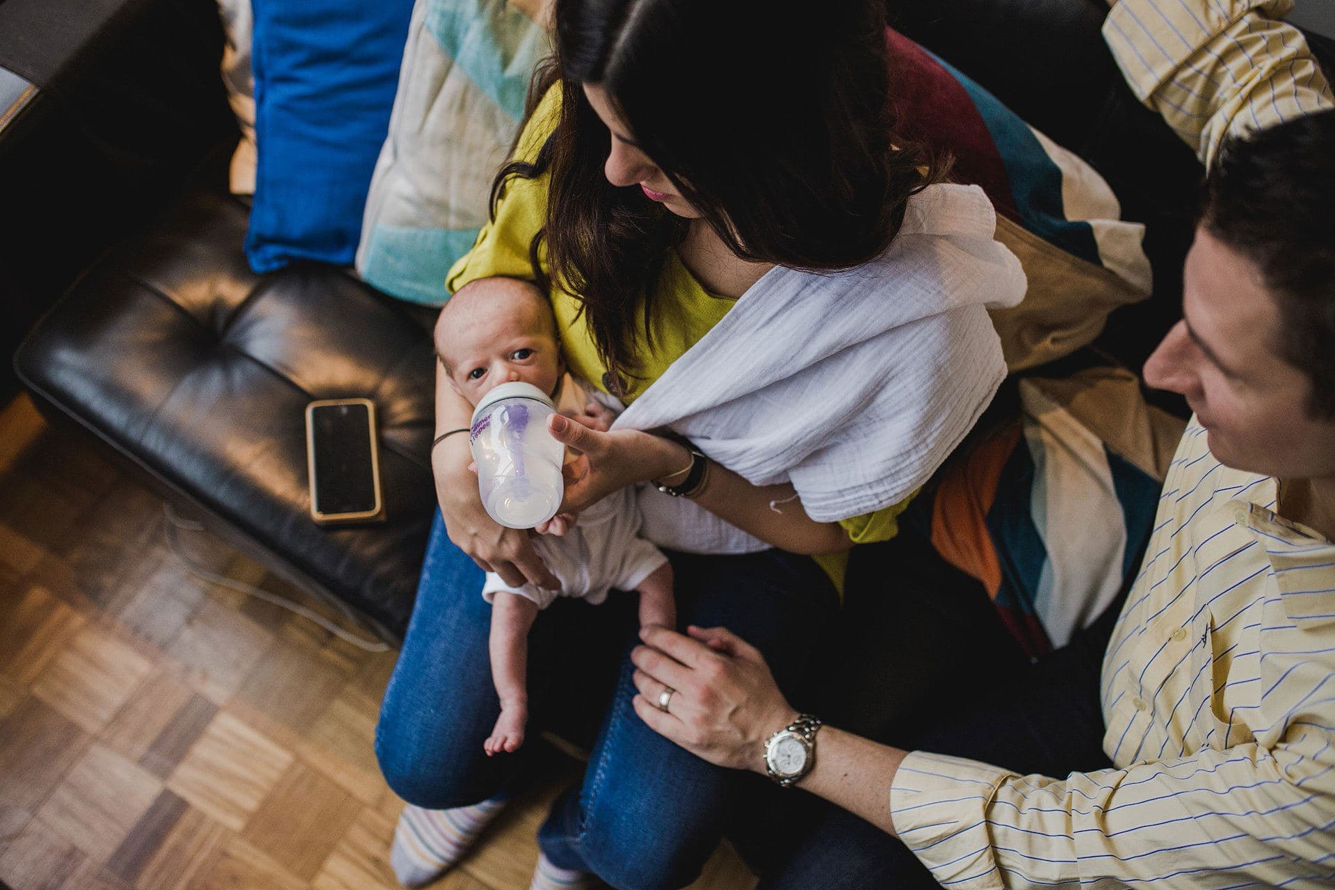 candid newborn photography in Teddington, SW London