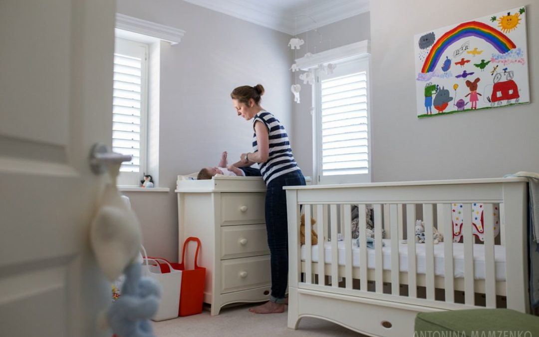 Baby Photos at Home in Hersham