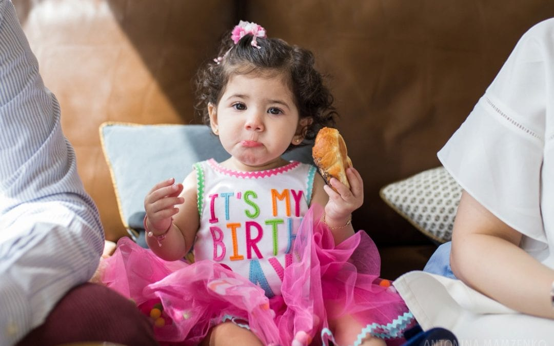 One Frame: First Birthday Vacation Photos in London
