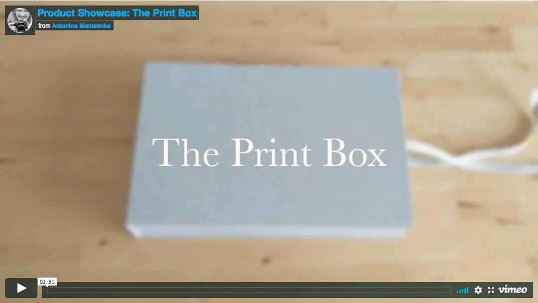 Product Showcase: The Print Box