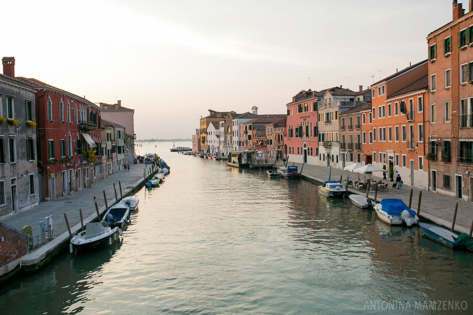 and evening view of Venice Ghetto
