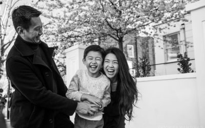 Professional family holiday photos in Notting Hill and Mayfair