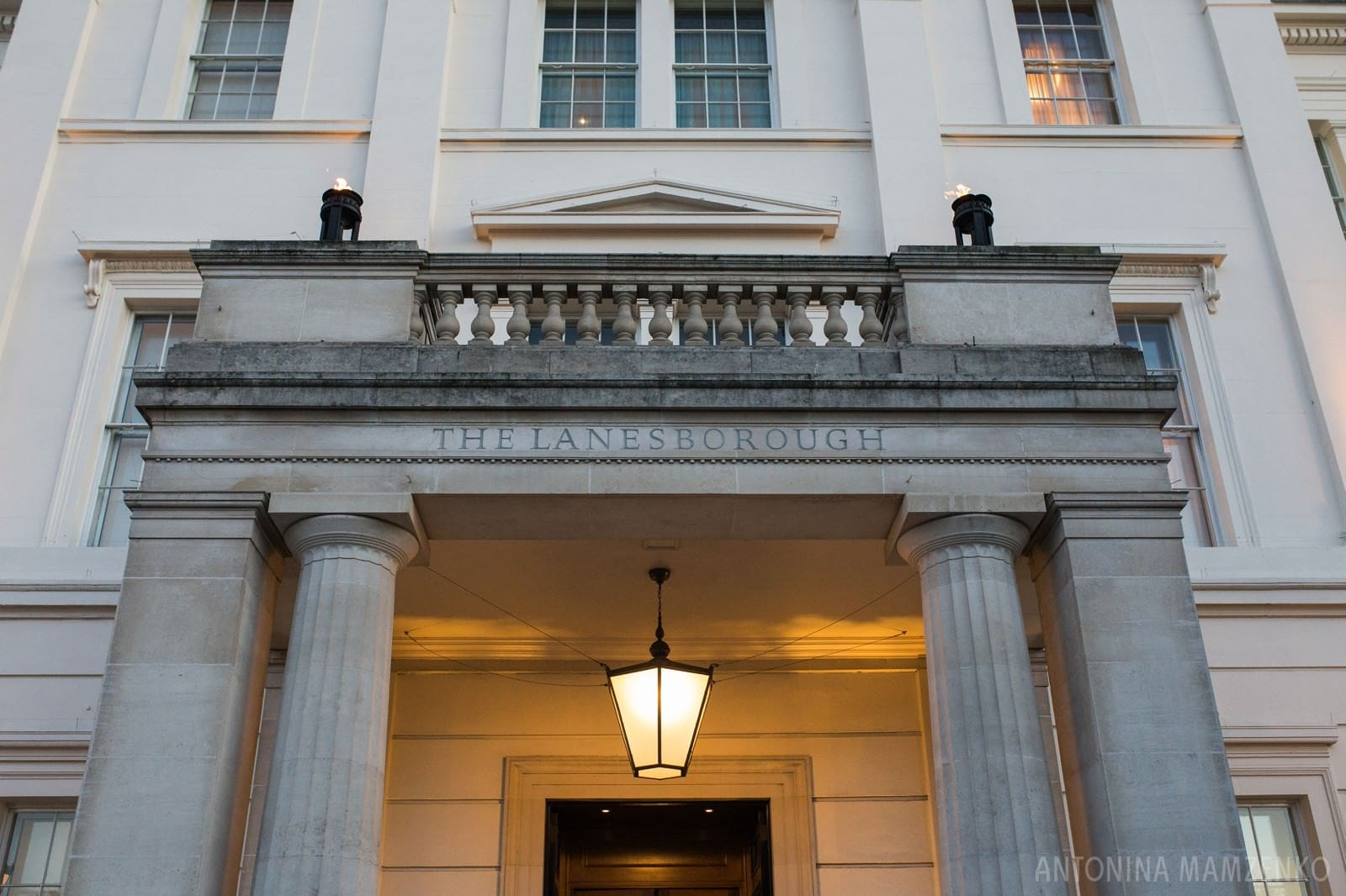 The Lanesborough Hotel in Central London