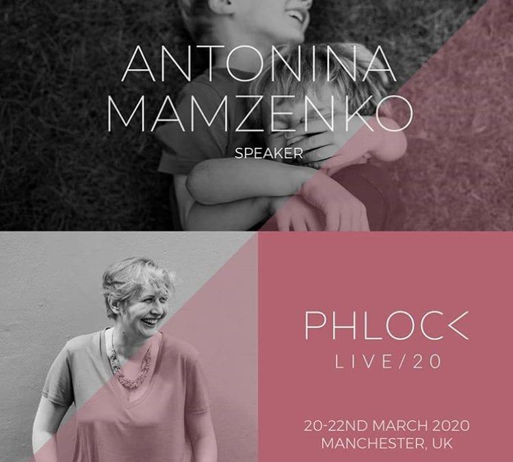Speaking at Phlock Live + Spotlight Exhibition