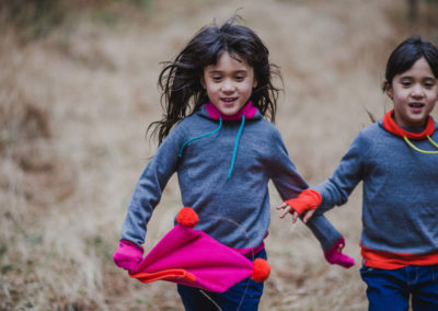 Lifestyle photoshoot with Kids Outdoors Brand Amamaya Clothing