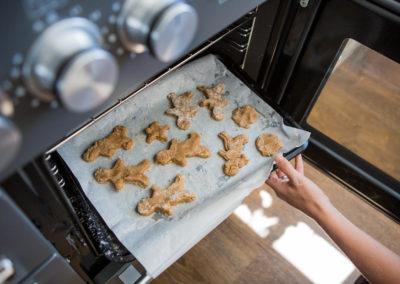 Lifestyle editorial photoshoot with Turner & Foye bespoke kitchens in Esher