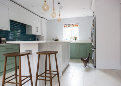 A lifestyle photoshoot with Turner & Foye bespoke kitchens in Esher